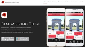 Remembering Them APP Available for free download