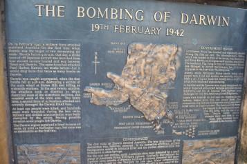 Bombing of Darwin memorial