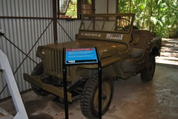 American Jeep in the Museum