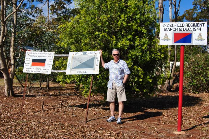 Wartime site - Atherton Tablelands, North Queensland